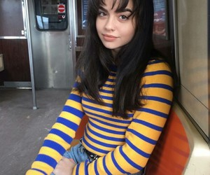 girl, stripes, and pretty girls image