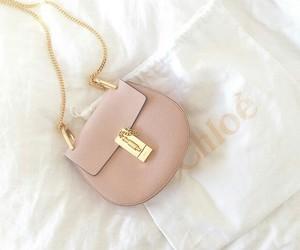 pink, bag, and chloé image