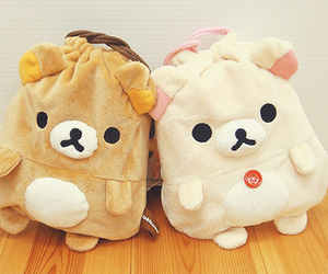 cute, rilakkuma, and bag image