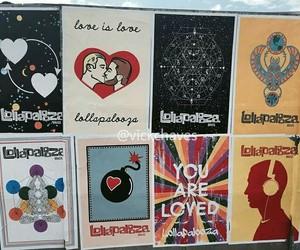 art, Lollapalooza, and music image