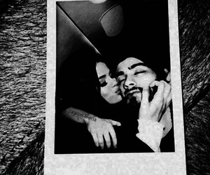 couple, selena gomez, and malik image