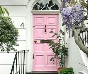 door, spring, and printemps image