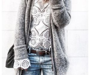 clothes, fashion, and lace image