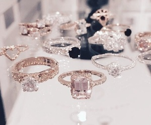 rings, luxury, and diamond image