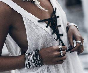 dress, fashion, and jewerly image