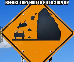 funny, sign, and lol image