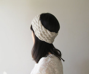 etsy, winter accessories, and gift for her image