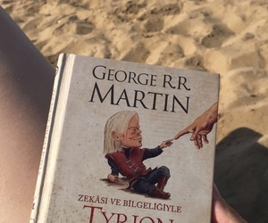 book, gameofthrones, and tyrionlannister image