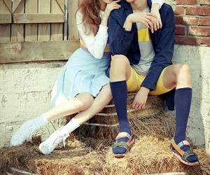 lee sung kyung, nam joo hyuk, and kim bok joo image