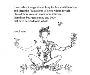 quotes, rupi kaur, and home image