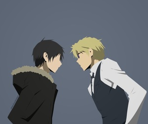 anime, durarara, and izaya image