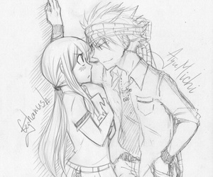 nalu and fairy tail image