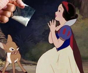 cocaine, drugs, and disney image