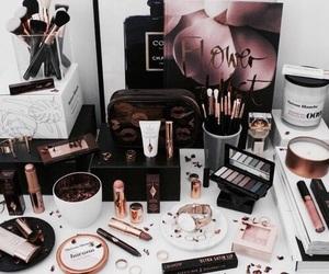 fashion, lipstick, and make up image