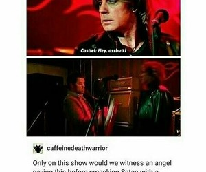 funny, supernatural, and lucifer image