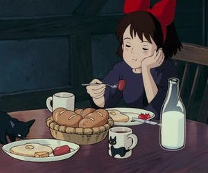 gif, anime, and kiki's delivery service image