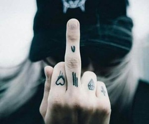 tattoo, owsla, and heart image