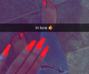 bright, nails, and on image