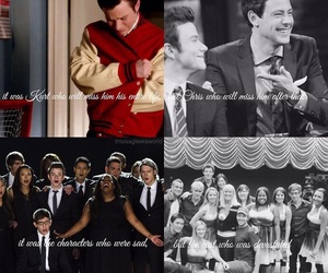 cory monteith, finn hudson, and chris colfer image