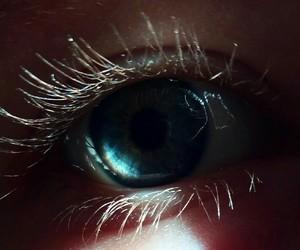 eye, turquoise, and blue image