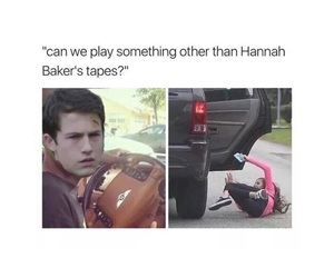 funny, 13 reasons why, and meme image