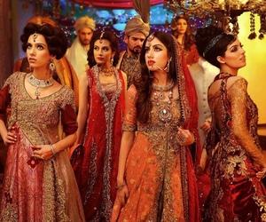 bride, indian, and pakistani image