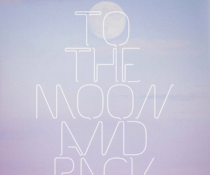 moon, wallpaper, and quotes image