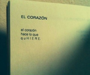 book, heart, and frases image