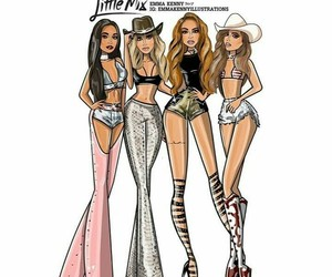arte and little mix image