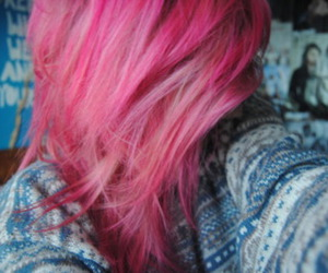 :3, city, and pink hair image