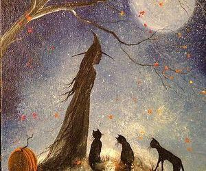 art, Halloween, and custumes image