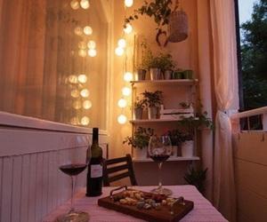 balcony, decor, and home image