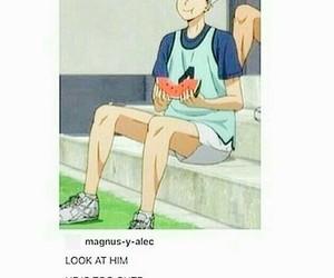 anime, haikyuu, and bokuto koutarou image
