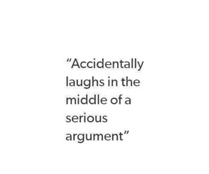 argument, serious, and laugh image