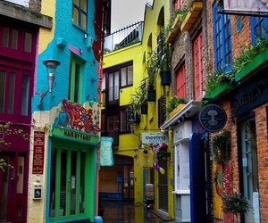 london, city, and colors image