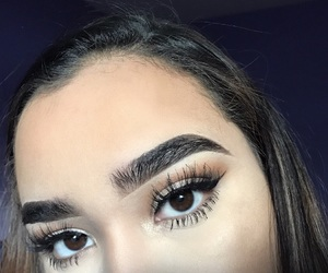 eyebrows, lashes, and thickeyebrows image