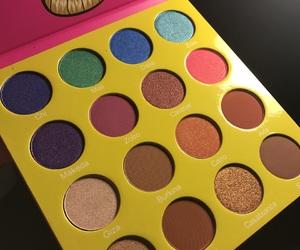 colorful, eyeshadow, and makeup image