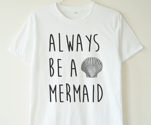 etsy, funny, and mermaid image