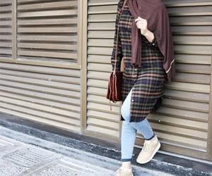 hijab, ootd, and hijabista image