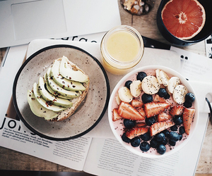 avocado, breakfast, and healthy image