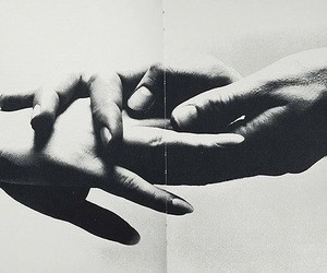 hands, love, and black and white image