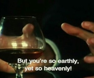 quotes, wine, and heaven image