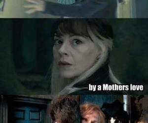 harry potter, love, and mother image