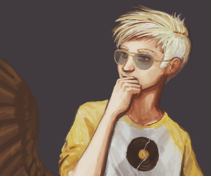 homestuck, dave strider, and davesprite image