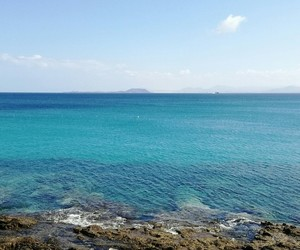 beach, fuerteventura, and Island image