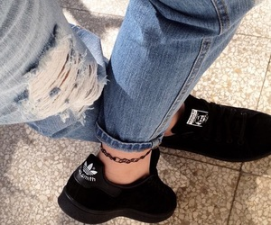 adidas, stansmith, and black image