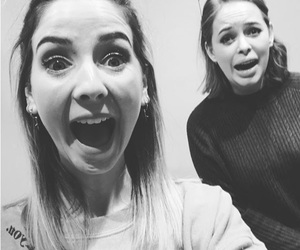 b&w, zoella, and tanya burr image