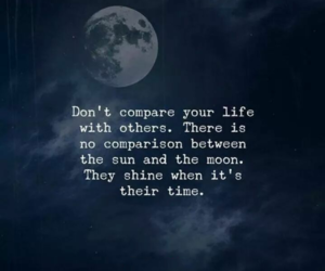 moon, sun, and life image