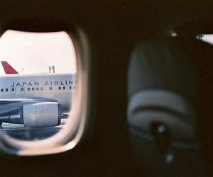 japan, photography, and plane image