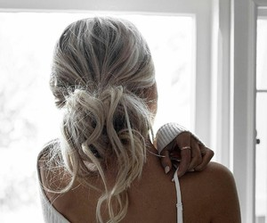 aesthetic, ashy blonde, and blonde image